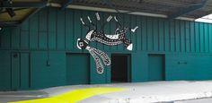 Klaus Haapniemi  Tiphaine-illustration #streetart #finnistart