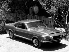 1968 Shelby GT 500 Promotional Photos