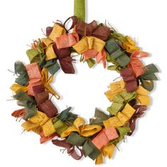 National Tree Company Garden Accents 22 in. Burlap Wreath - GAE30-22WB