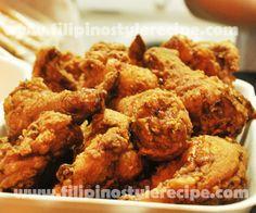 Filipino Crispy Garlic Chicken