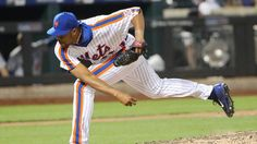 New York Mets relief pitcher Jeurys Familia delivers a pitch during the ninth inning against the Los Angeles Dodgers at Citi Field. (Anthony Gruppuso/USA Today Sports Images)