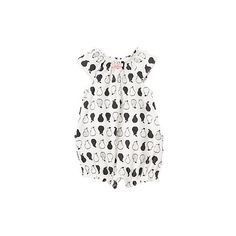 [짐보리] Gymboree Pear Print Bubble One-Piece