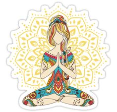 Yoga Om Chakras Mindfulness Meditation Zen Also buy this artwork on stickers, apparel, phone cases, and more. Two People Yoga Poses, Yoga Poses For Back, Kids Yoga Poses, Yoga For Kids, Daily Meditation, Mindfulness Meditation, Mindfulness Exercises, Mindfulness Activities, Mindfulness Techniques