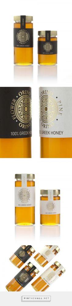 Orino Honey - Packaging of the World - Creative Package Design Gallery - http://www.packagingoftheworld.com/2017/10/orino-honey.html