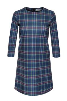 Stretchy dress in tartan - FrontRowShop