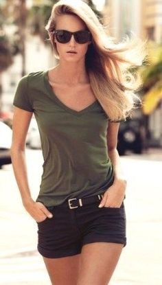 26 Casual Summer Outfits for Women Jeans ideen for teens frauen shorts outfits Classy Summer Outfits, Summer Outfit For Teen Girls, Casual Summer Outfits For Women, Casual Summer Clothes, Summer Clothes For Women, Casual Wear Women, Summer Clothing, Clothes Women, Spring Outfits