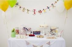 Bonitas fiestas infantiles de Belle & Boo
