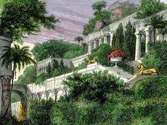 La antigua maravilla del mundo, los Jardines Colgantes, no estaban en Babilonia, sino en Nínive