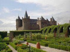 Chateau Muiderslot jardins