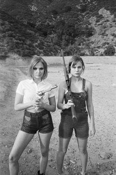 Z Berg and Brie Larson