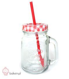 Bake in Drinking Jar www. Drinking Jars, Mason Jars, Mugs, Baking, Tableware, Garden, Dinnerware, Garten, Tumblers
