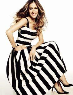 monochrome black & stripes