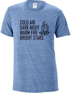 #camping tshirt Our shirts are made to order with professional grade heat transfer vinyl and heat press machine to make sure vinyl stays put after many washes.