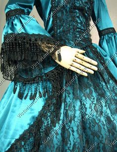 High Quality Marie Antoinette Renaissance Fair Queen Dress Ball Gown Theater Period Costume 142