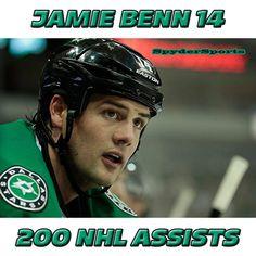Jamie Benn Reaches 200 NHL Assists   Spyder Sports Lounge