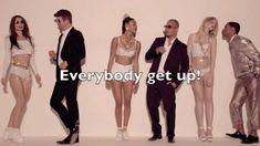 Robin Thicke   Blurred Lines ft.  T.I  & Pharrell Williams Lyrics On Screen