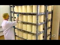 How It's Made - Blue Stilton Cheese - YouTube