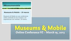 Conferencia online Museums & Mobile - 19 marzo