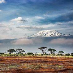 Mount Kilimanjaru. Kenya
