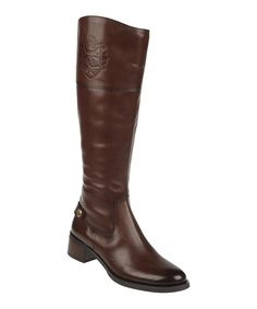 Take a look at this Brown Chip Boot by Etienne Aigner on @zulily today!