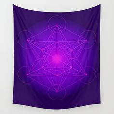 Our lightweight Wall Tapestries Off Art Prints, Framed Prints + Wall Hangings Energy Symbols, Tapestry Wall Hanging, Wall Hangings, Face Design, Flower Of Life, All Wall, Fractal Art, Wall Prints, Vivid Colors
