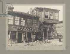 Village cafe, Bagdjekeuy, near Constantinople (Istanbul), Turkey, April 1924