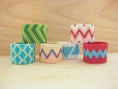 Nice tutorial for simple peyote stitch rings -- pinning for my friends who have been curious about learning to bead. This would be a good place to start!