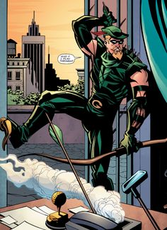 Green Arrow - Phil Hester (Pencils) Andre Parks (Inks) Guy Majors (Colors)