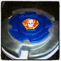 Or perhaps Joshua would prefer this Beyblade cake