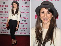 Troian Bellisario (Spencer) knows how to work the red carpet!  We love this ensemble!