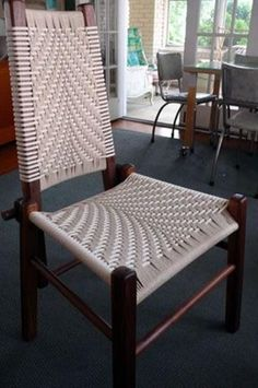 The Beauty of DIY Weave Furniture, Handmade Furniture Design Ideas Weave furniture design blends traditional techniques and modern trends in decorating with handmade items Handmade Furniture, Unique Furniture, Contemporary Furniture, Diy Furniture, Furniture Design, Automotive Furniture, Automotive Decor, Furniture Repair, Furniture Websites