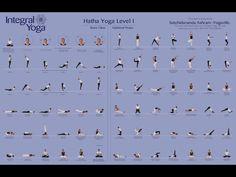 Hatha yoga poses - Level 1
