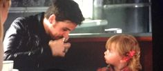 Hook and baby Alex.  Emma watched them it was BEAUTIFUL