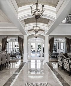 Enhance Your Senses With Luxury Home Decor Mansion Interior, Luxury Homes Interior, Luxury Home Decor, Home Interior Design, Interior Decorating, Elegant Home Decor, Elegant Homes, Placard Design, 3d Home
