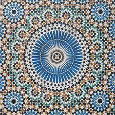 moroccan mosaic tile designs | Moroccan Tiles | Moroccan Floor Tile | Moorish tile