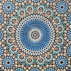 Moroccan Mosaic Tile Designs Tiles Floor Moorish