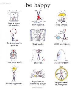 Je vous invite à découvrir aujourd'hui un film d'animation basé sur le livre de Monica Sheehan «Be Happy : a little book to help you live a happy life«.  Pour compléter, j'aime particulièrement...