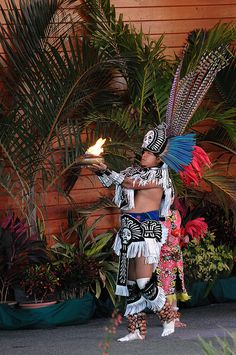 Aztec Fire Dance