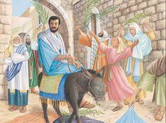 83 - ישוע רוכב על עיר