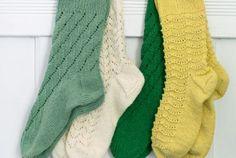 Dagens gratisoppskrift: Sokker med hullmønster Wool Socks, Knitting, Fashion, Moda, Woolen Socks, Tricot, Fashion Styles, Breien, Stricken