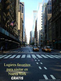 Lugares favoritos para visitar en Nueva York gratis