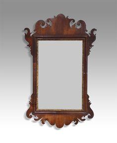 Small Georgian mirror