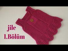 Baby dress model making - My Sweet Dress Moda Crochet, Summer Outfits, Girl Outfits, Knit Baby Dress, Baby Skirt, Jamel, Baby Vest, Baby Knitting Patterns, Free Pattern