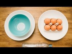 Very cool way to separate egg yolk