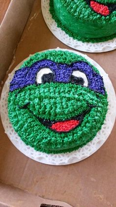 Teen age mutant ninja turtles birthday cake.Lyn Ducich