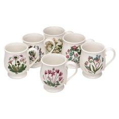 Portmeirion Home /& Gifts Lot de 6 Sets de Table Multicolore 30,5 x 23 cm