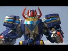 Power Rangers Super Megaforce ep8 - Q-Rex Megazord Unleashed