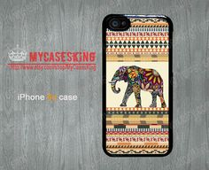 Paisley Elephant iPhone 5c case Elephant iPhone5c case Elephants iPhone 5c Hard/Rubber case-Choose Your Favourite Color by MyCasesKing, $6.99