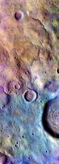 Soft Terrain in Noachis Terra on Mars | by sjrankin