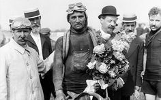 The foreign legion: François Faber became the first non-Frenchman to win the Tour after the Luxembourg rider triumphed in 1909.
